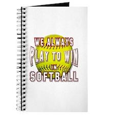 We always softball Journal