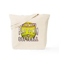 We always softball Tote Bag