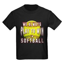 We always softball T