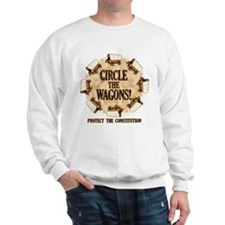 Circle the Wagons! Sweatshirt