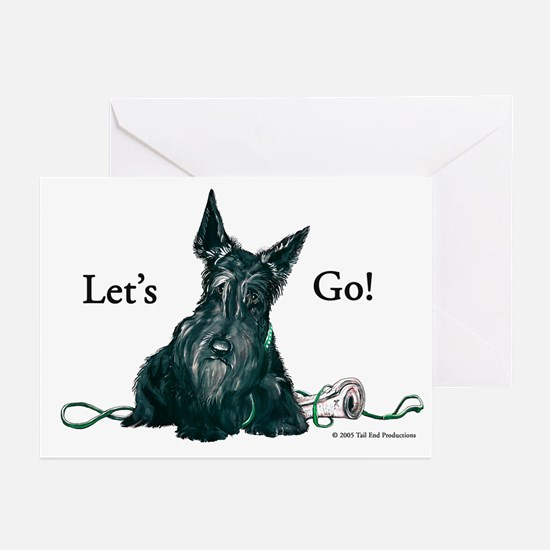 Let's Go Scotty!!! Greeting Cards (Pk of 10)