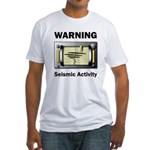 Seismic Activity Fitted T-Shirt