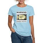 Seismic Activity Women's Pink T-Shirt