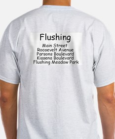 Flushing Ash Grey T-Shirt
