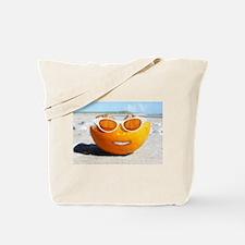 Funny Smiling sun Tote Bag