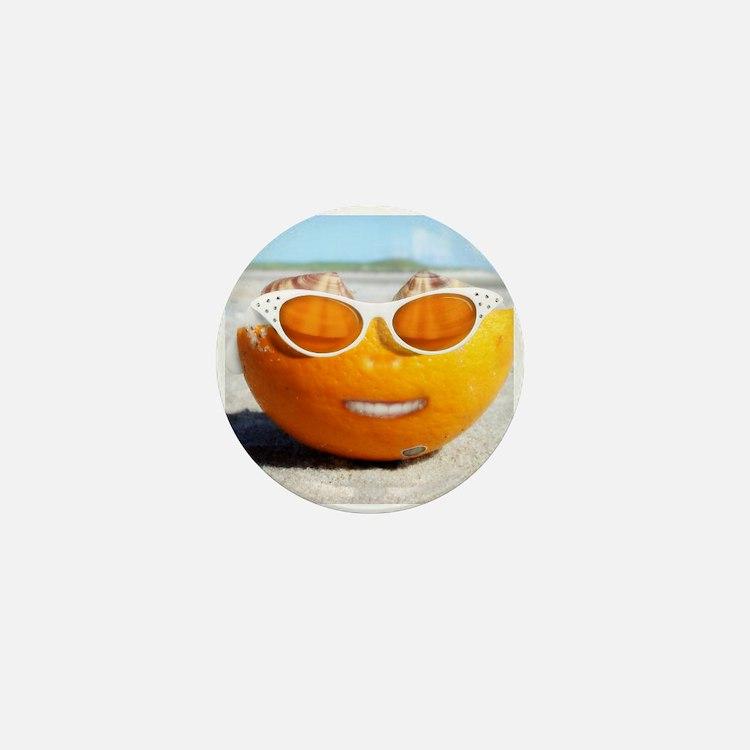 Cute Beach Mini Button