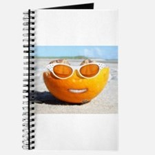 Funny Smiling face Journal