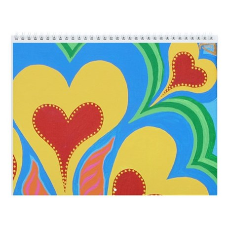 Hearts of Tahiti Hanukkah Wall Calendar