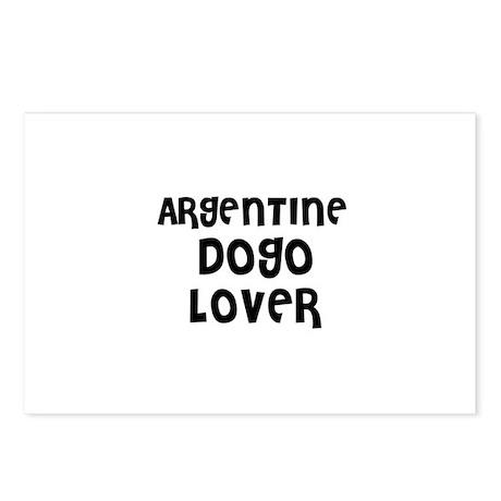 ARGENTINE DOGO LOVER Postcards (Package of 8)