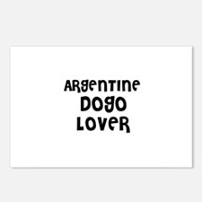 ARGENTINE DOGO LOVER Postcards (Package of 8)