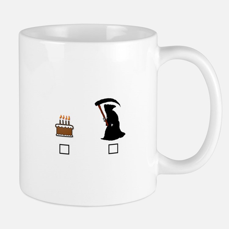 4-Cake Or Death 2 Mugs