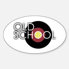 Retro 45 Oval Decal