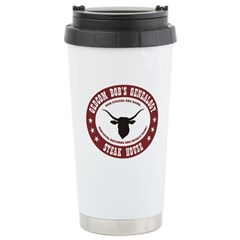 Steak House Stainless Steel Travel Mug