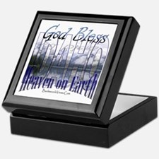 God Bless Idaho Keepsake Box