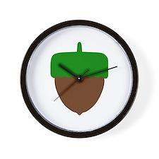 Hazelnut Wall Clock