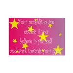 Endless Possibilities Rectangle Magnet (10 pack)
