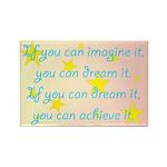 Imagine Dream Achieve Rectangle Magnet (10 pack)