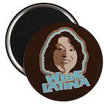 Wise Latina Magnet