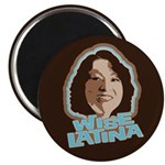 "Wise Latina 2.25"" Magnet (100 pack)"
