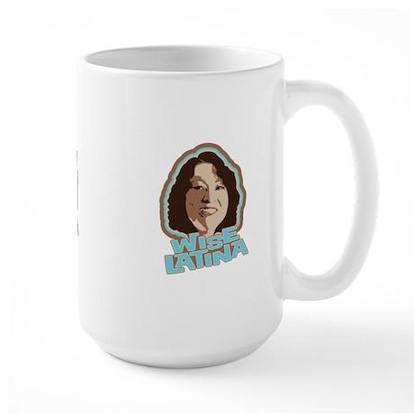 Wise Latina Large Mug