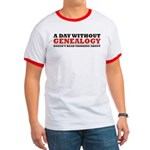 A Day Without Genealogy Ringer T