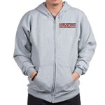 A Day Without Genealogy Zip Hoodie