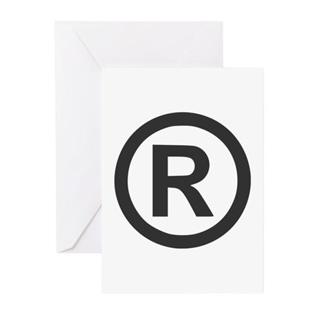 Registered Greeting Cards (Pk of 20)