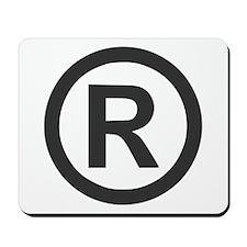 Registered Mousepad