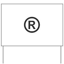 Registered Yard Sign
