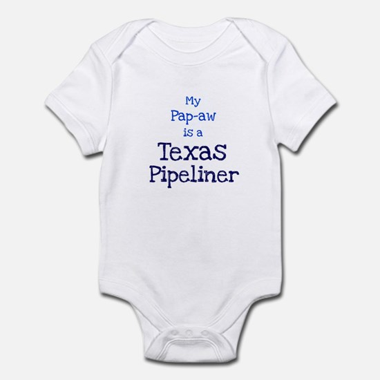 My Pap-aw is a Texas Pipeline Infant Bodysuit