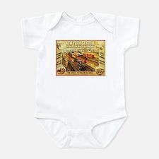 New York Central & Hudson Riv Infant Bodysuit