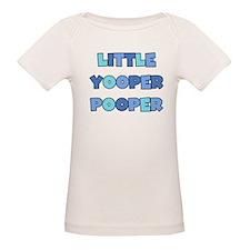 Blue Little Yooper Pooper Tee