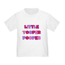 Pink Little Yooper Pooper T
