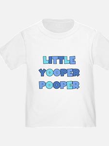 Blue Little Yooper Pooper T