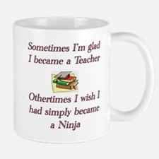 Becoming a teacher copy Mugs
