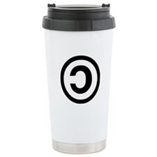 Copyleft Travel Mug
