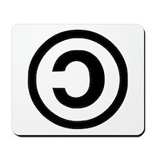 Copyleft Mousepad