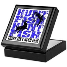 Hunt Fish Keepsake Box