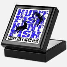 Hunt Fish Keepsake Box