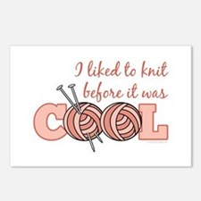 I Liked To Knit Before It Was Cool Postcards (Pack