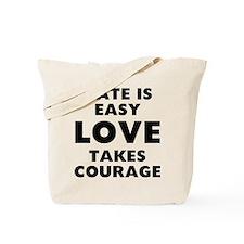 Hate Love Tote Bag