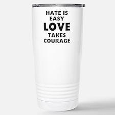 Hate Love Travel Mug