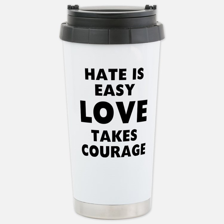 Hate Love Travel Mug