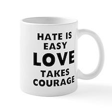 Hate Love Small Mug