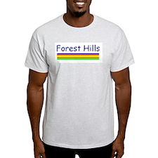 Forest Hills Ash Grey T-Shirt