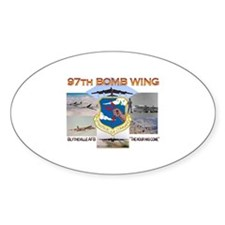 97th BMW Blytheville AFB Oval Decal
