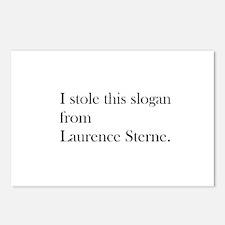 Sterne Slogan 2 Postcards (Package of 8)