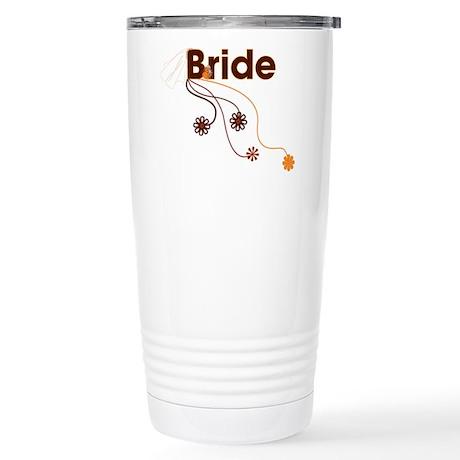 Fall Bride Stainless Steel Travel Mug