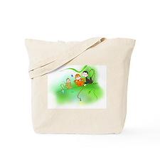 Cute Monkey trio Tote Bag
