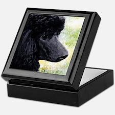 Standard Poodle Keepsake Box